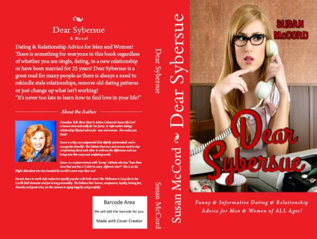 Dear Sybersue Paperback Book Cover Sept 2014